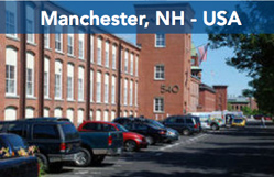Manchester NH, USA Location